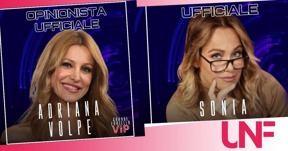 Sonia Bruganelli e Adriana Volpe in guerra ancora prima che il GF VIP 6 inizi?