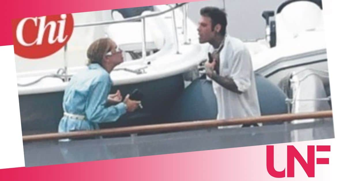 Chiara Ferragni e Fedez che litigio in barca: i fotografi immortalano tutto