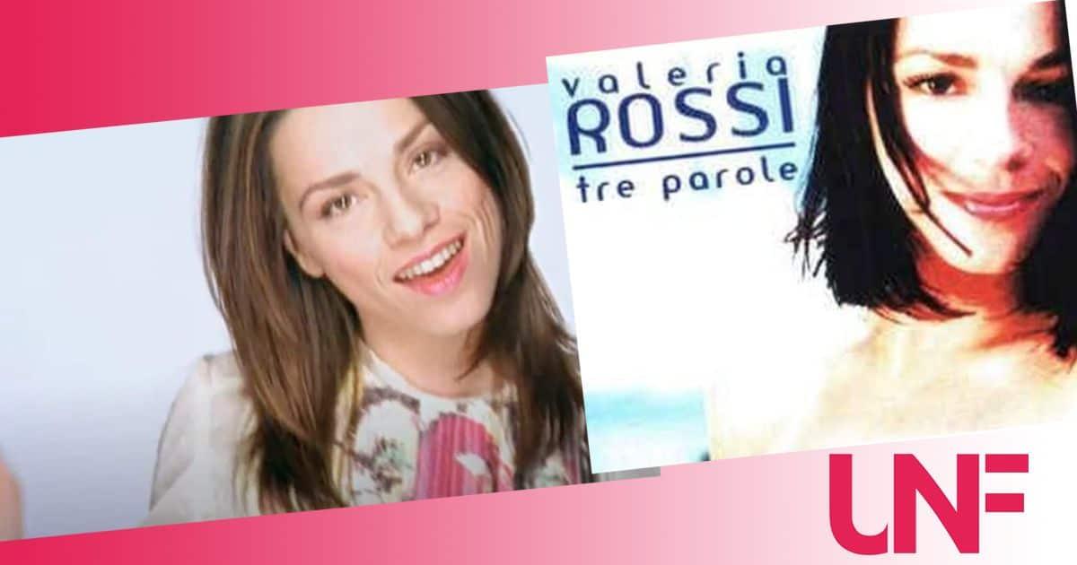Valeria Rossi 20 anni dopo Tre parole: cosa fa oggi
