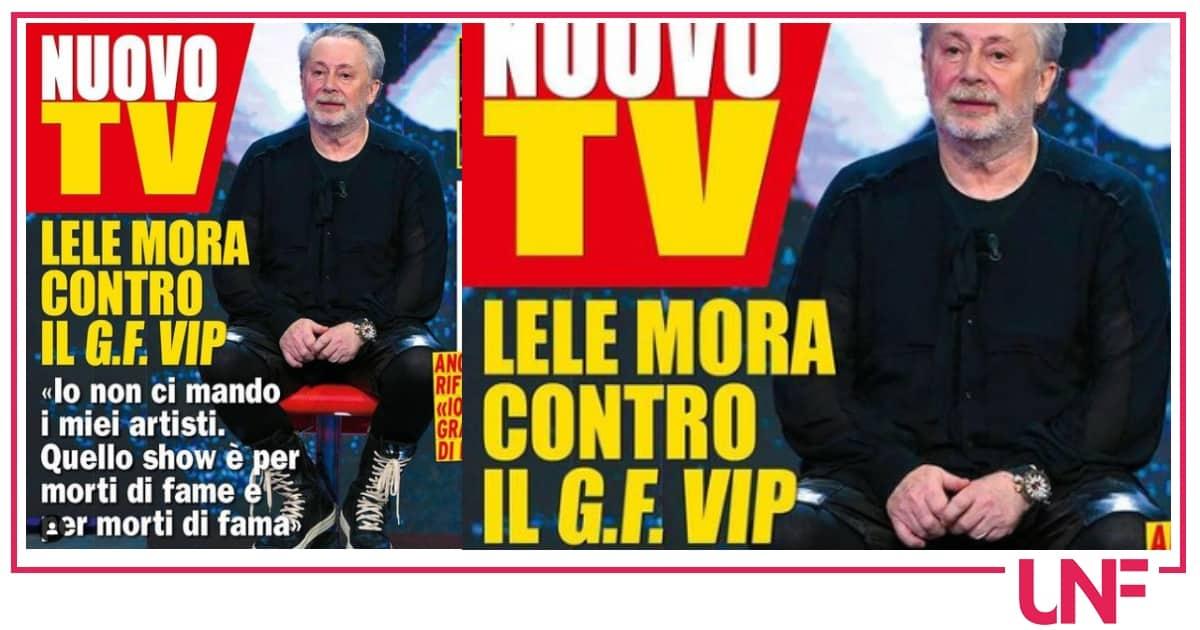 """Lele Mora si schiera contro il Grande Fratello Vip: """"E' per morti di fame"""""""
