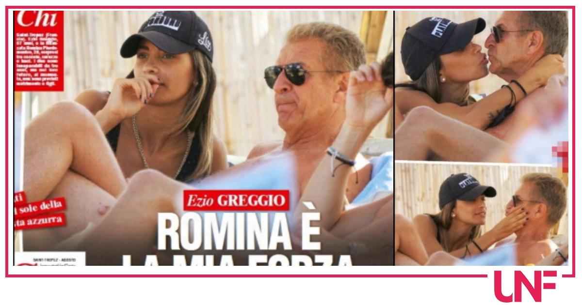 """Ezio Greggio e Romina innamorati e insieme da 3 anni: """"Stiamo bene"""""""