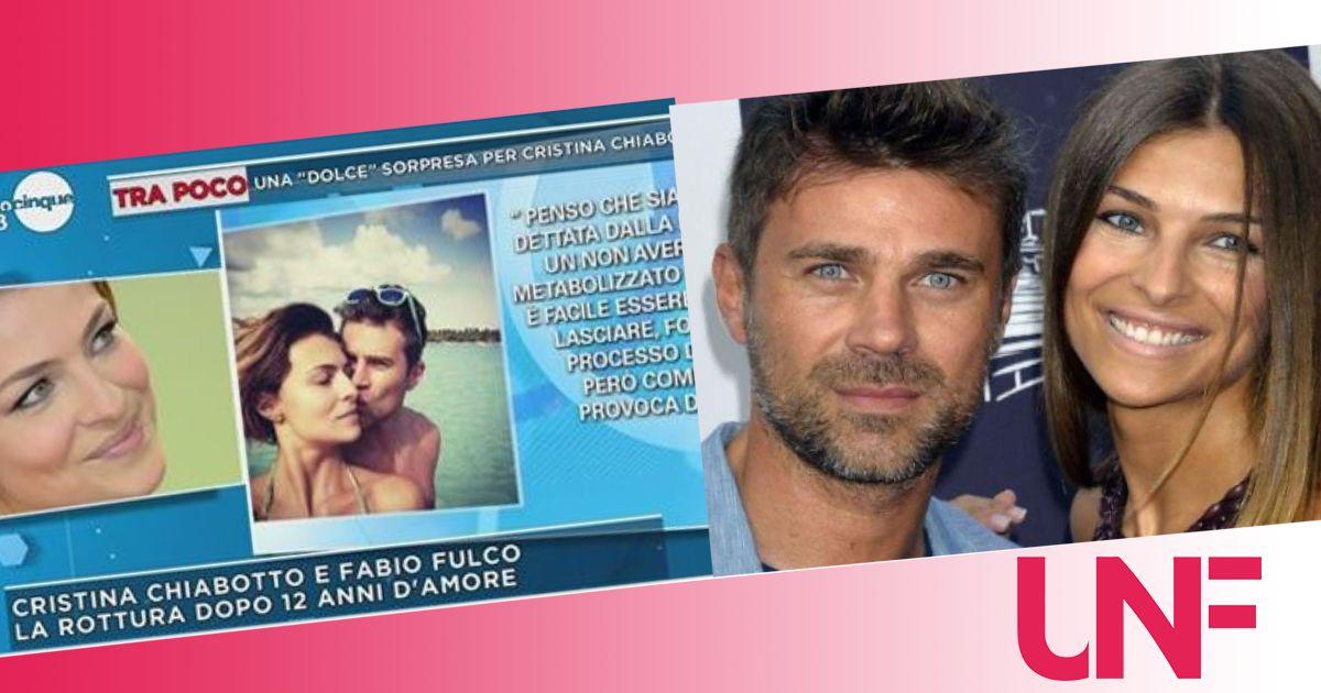 """Fabio Fulco deluso dalla Chiabotto: """"Immatura, ha recitato un copione già scritto"""""""