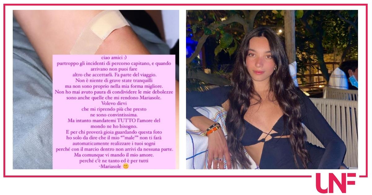 Mariasole Pollio salta Venezia 78 per curarsi: ecco cosa è successo