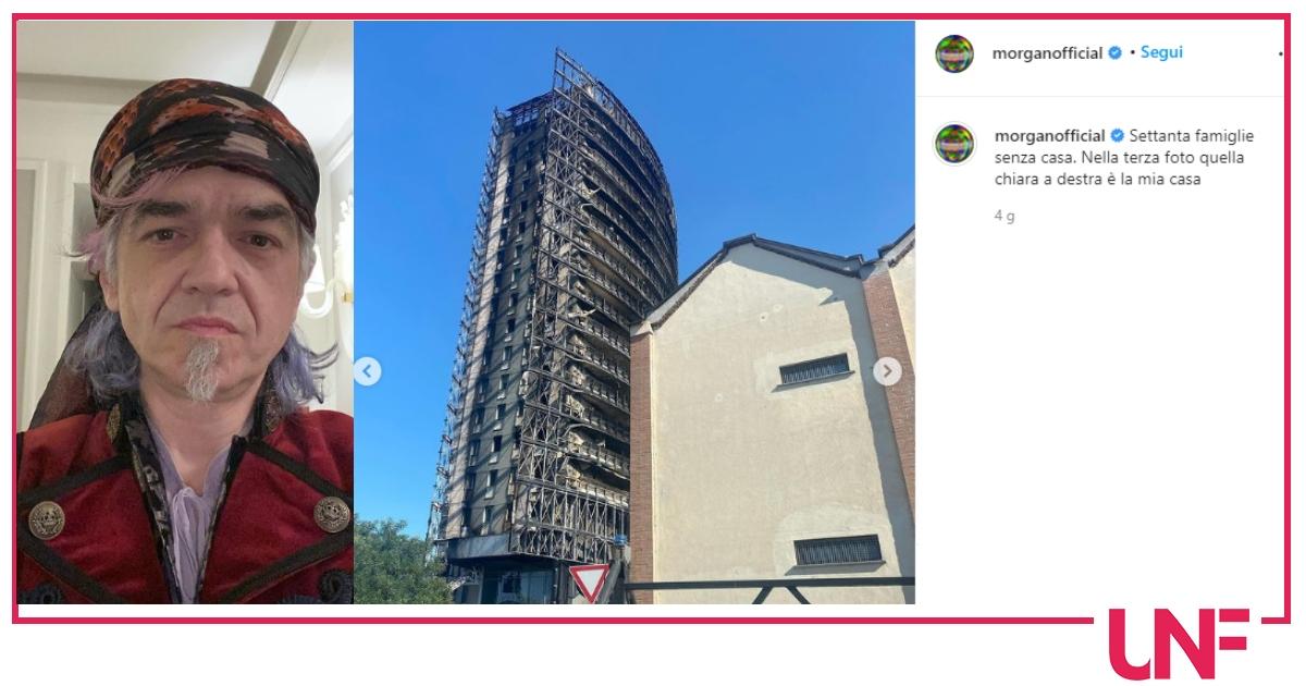 """Incendio Milano, Morgan abita accanto: """"Se mi fanno rientrare aprirò le porte a chi ha perso la casa"""""""