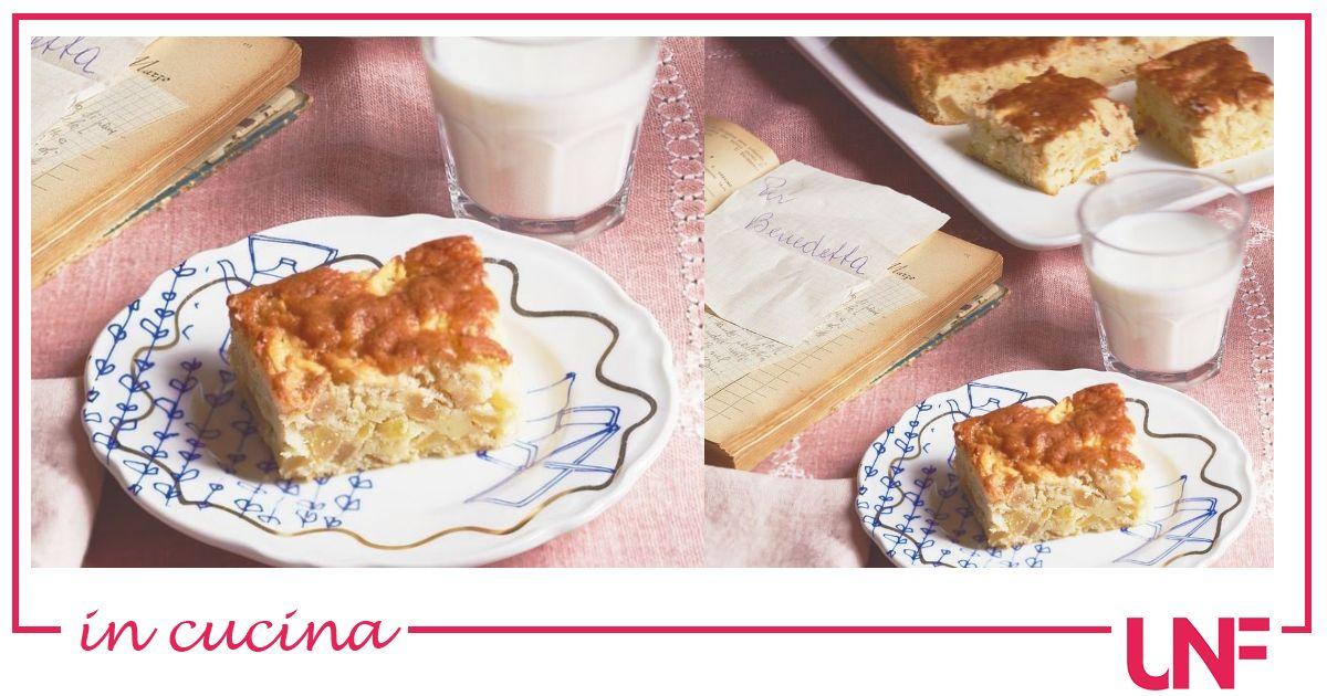 La ricetta della torta di mele di nonna Carla suggerita da Benedetta Parodi