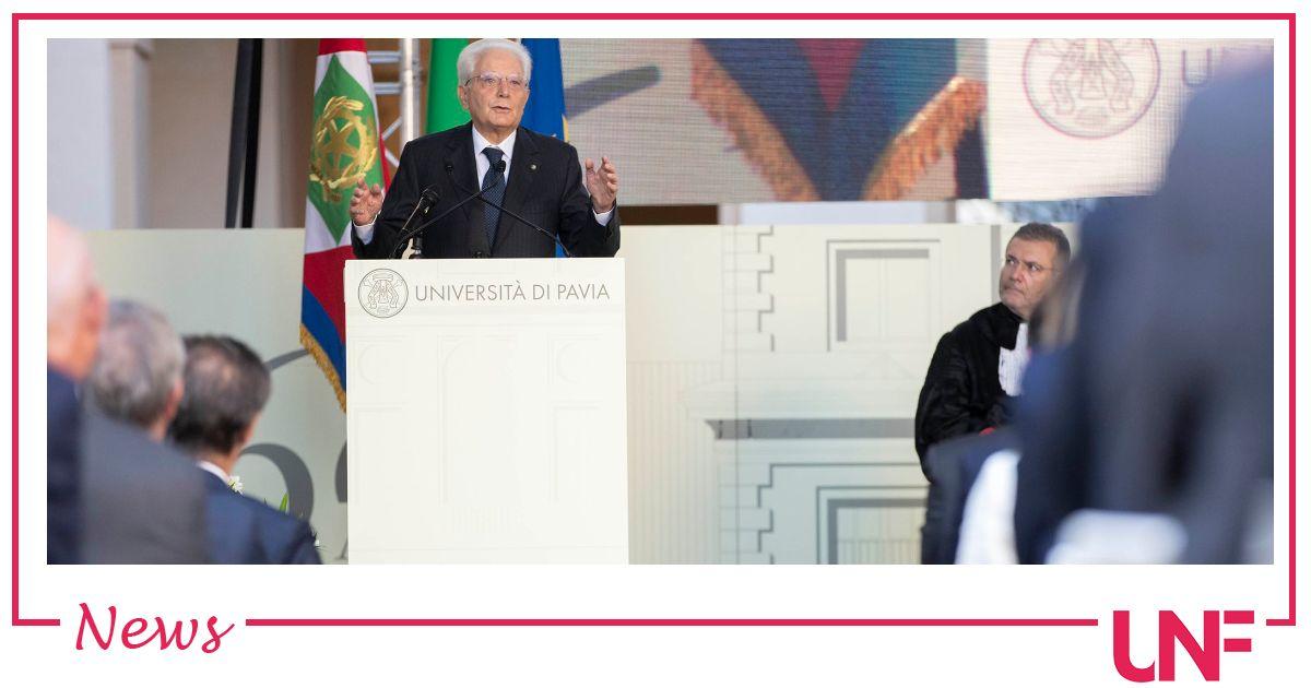"""Presidente Mattarella: """"Chi non si vaccina limita la libertà degli altri"""""""