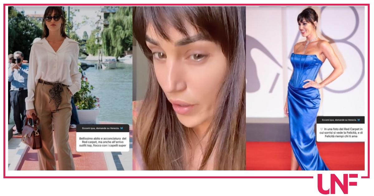 Cecilia Rodriguez dopo le critiche spiega perché era a Venezia