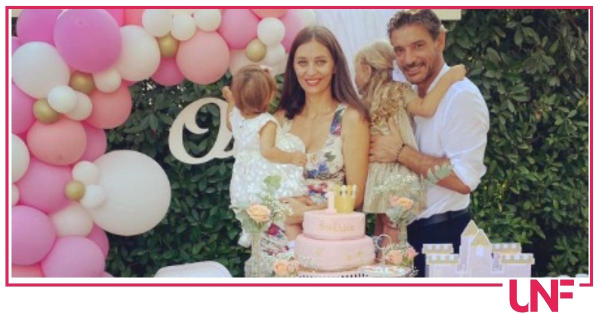 Giuseppe Zeno e Margareth Madè mostrano la festa di compleanno della figlia, foto rare