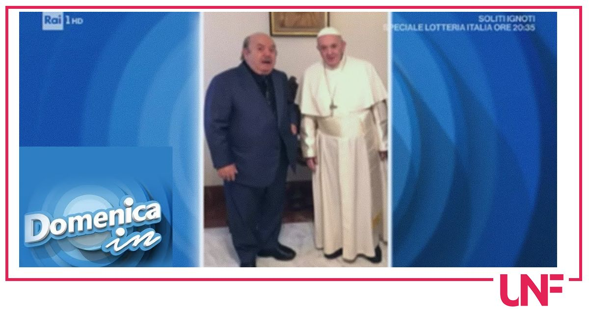 "Lino Banfi al settimo cielo, Papa Francesco gli ha scritto: ""E' il mio oscar"""