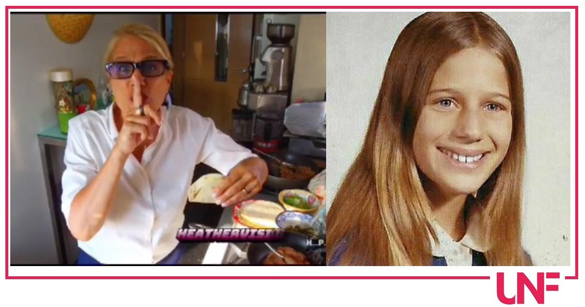 Heather Parisi pubblica la foto da adolescente, stessa età dei figli e stesse regole severe