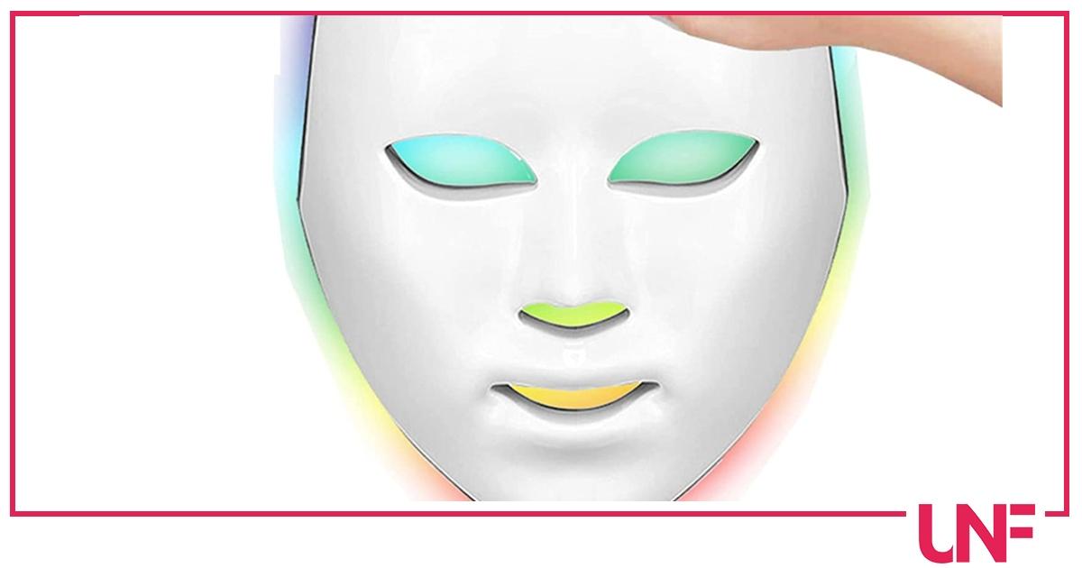 Maschere led per il viso, cosa sono e come si usano