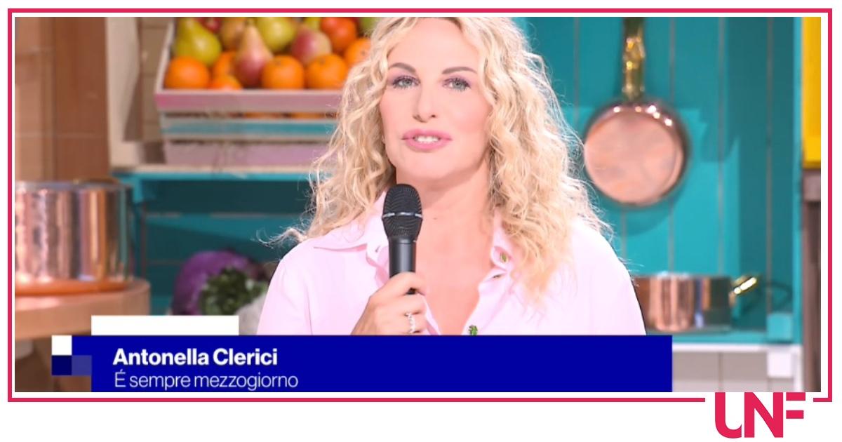 E' sempre mezzogiorno, la conferenza stampa: Antonella Clerici presenta le novità