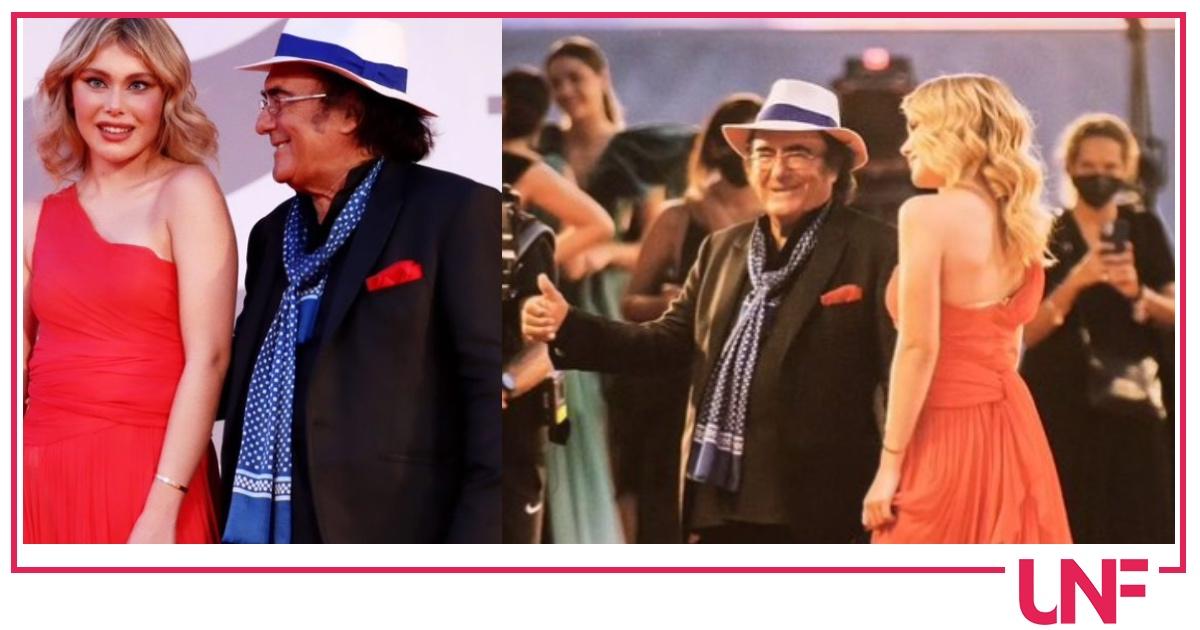 Jasmine Carrisi con papà Al Bano il debutto sul red carpet di Venezia