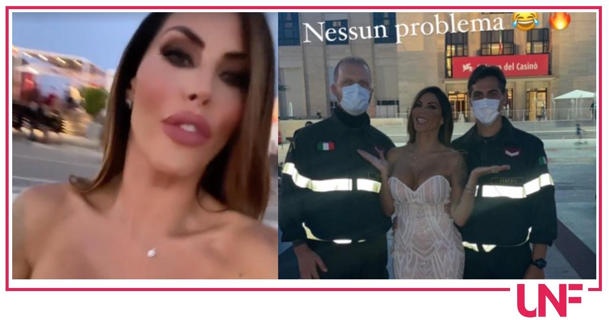Guendalina Tavassi a Venezia col nuovo compagno ma non è andata benissimo