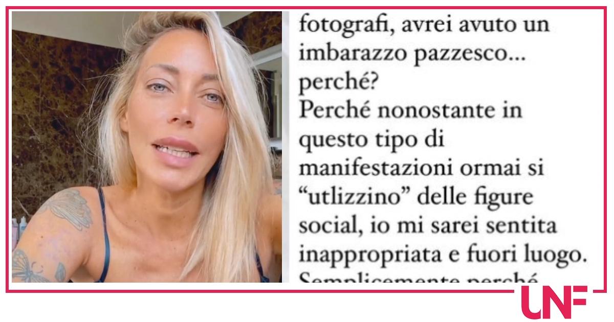 Karina Cascella rinuncia a Venezia e cambia lavoro