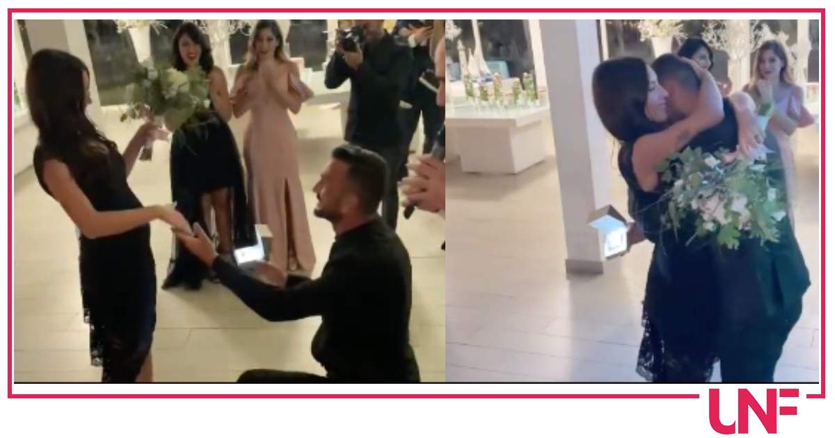 Nicola Panico in lacrime chiede a Francesca Parenti di sposarlo