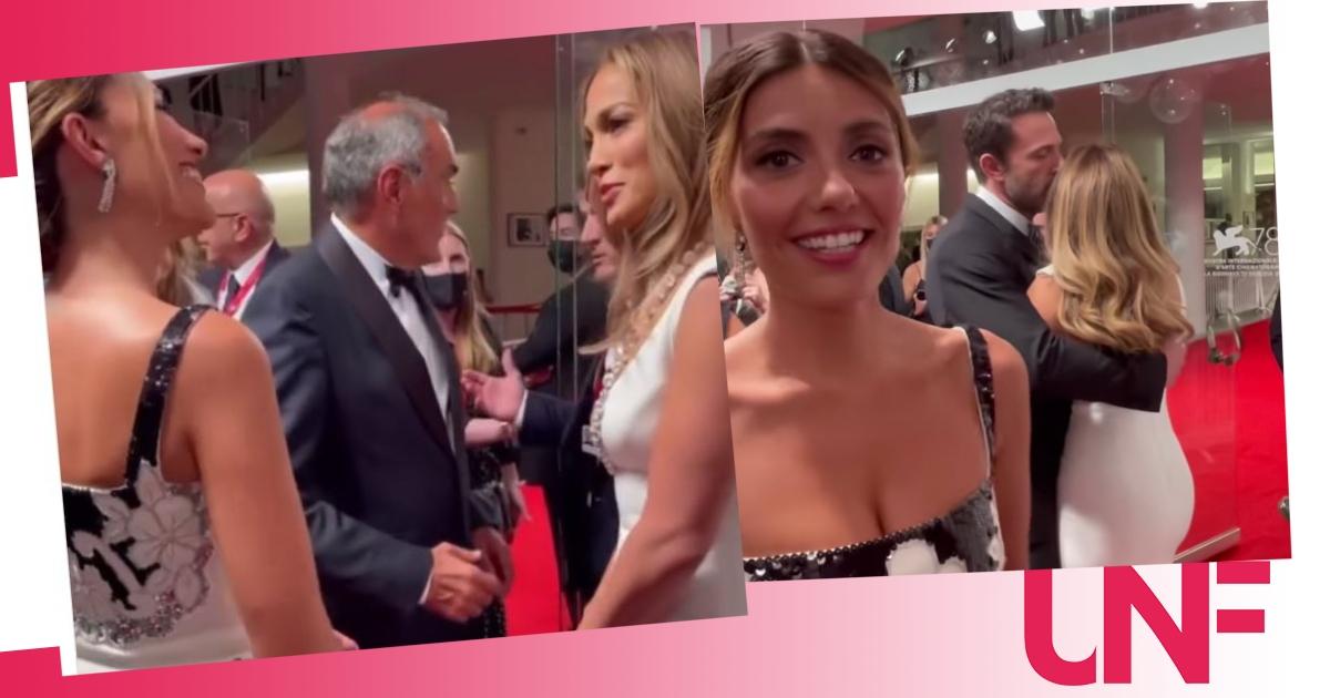Serena Rossi incontra Jennifer Lopez e Ben Affleck e il video è tutto da ridere