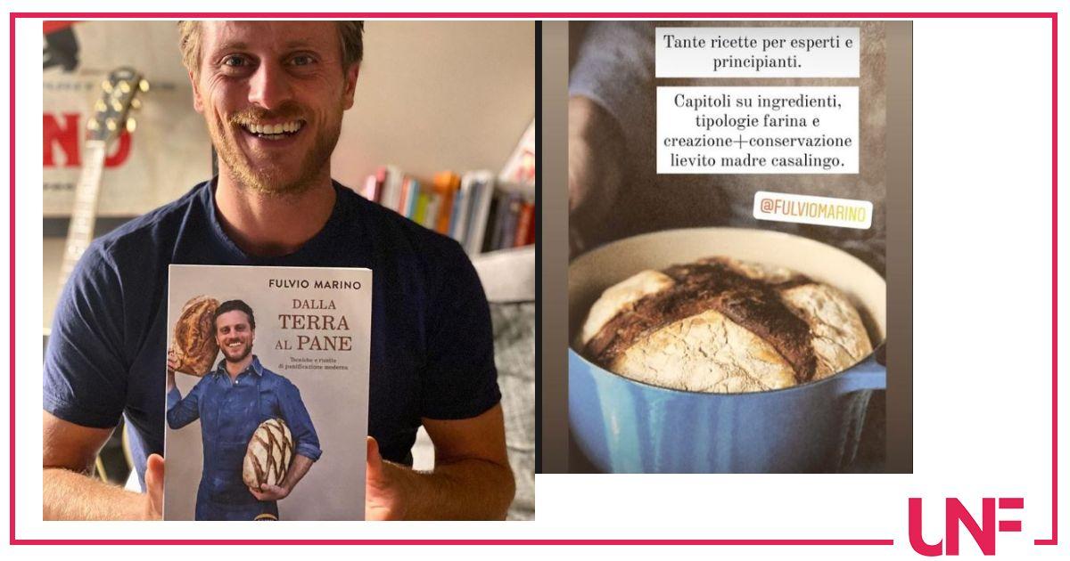 Dalla terra al pane è il primo libro di Fulvio Marino