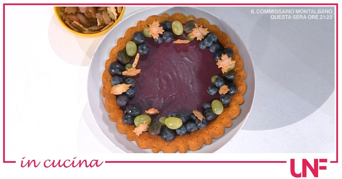 Torta ai sughi d'uva, la ricetta dolce di Natalia Cattelani