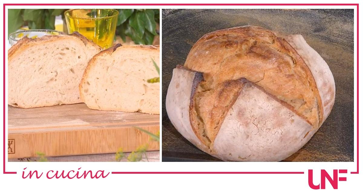 Fulvio Marino torna con la ricetta pane rustico di grano duro dedicata al papà