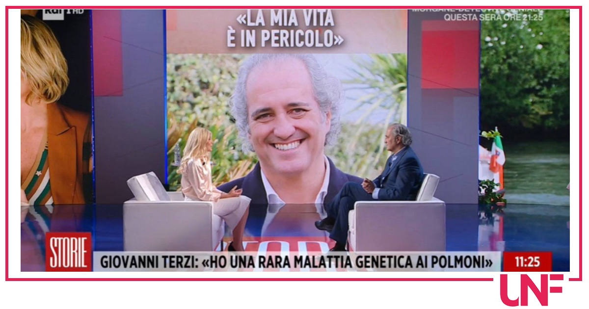 """Giovanni Terzi racconta la sua malattia a Storie Italiane: """"Non voglio arrivare al trapianto"""""""