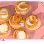 Vol au vent ai quattro formaggi, la ricetta di Chloe Facchini