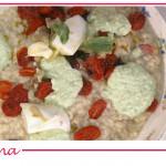 Risotto alla parmigiana di melanzane, ricetta Sergio Barzetti
