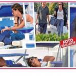 Elisa Isoardi è tornata con l'ex? Insieme in spiaggia a Fregene