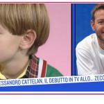 La prima volta di Alessandro Cattelan in tv a 7 anni allo Zecchino d'Oro