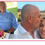 Antonella Clerici festeggia il compleanno del papà, tutti insieme nella casa nel bosco