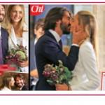 Matrimonio super chic: Leonardo Del Vecchio e Anna Castellini Baldissera hanno detto sì