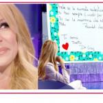 """Adriana Volpe si scioglie con la lettera della figlia: """"Mamma, sei il mio punto di riferimento"""""""