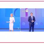 Federica Panicucci e Francesco Vecchi tornano al timone di Mattino 5 e salutano i colleghi di Morning News