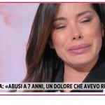 """Aida Yespica abusata da bambina: """"Qual è la mia vita ormai?"""""""