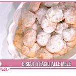 Ricette dolci Zia Cri: biscotti facili alle mele