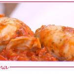 Calamari ripieni al pomodoro, la ricetta di Michele Farru