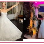Miriam Leone mostra l'abito della festa: è ancora più bella (FOTO)