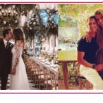 Cristina Chiabotto e Marco Roscio festeggiano l'anniversario di matrimonio