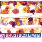 La ricetta della pavlova di Alessandro Capotosti