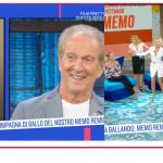 Milly Carlucci presenta Maria Ermachkova a Memo Remigi
