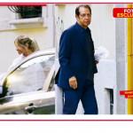 Maddalena Corvaglia e Paolo Berlusconi beccati insieme con le valigie sotto casa
