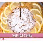 Ricette Natalia Cattelani: torta al limone e crema, sole d'Ischia
