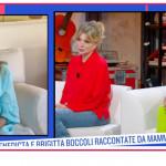 Brigitta e Benedicta Boccoli, per la prima volta la mamma appare in tv per entrambe