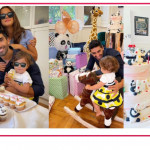 La festa di compleanno di Mia, la figlia di Giorgia Palmas e Filippo Magnini ha compiuto un anno