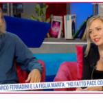 Marco Ferradini da Teorema dedicata alla prima moglie al duetto con la figlia