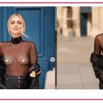 Chiara Ferragni inaugura la Parigi Fashion Week con un look da urlo e Fedez prepara i popcorn