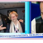 Francesco Baccini dalla perdita del padre al messaggio del figlio