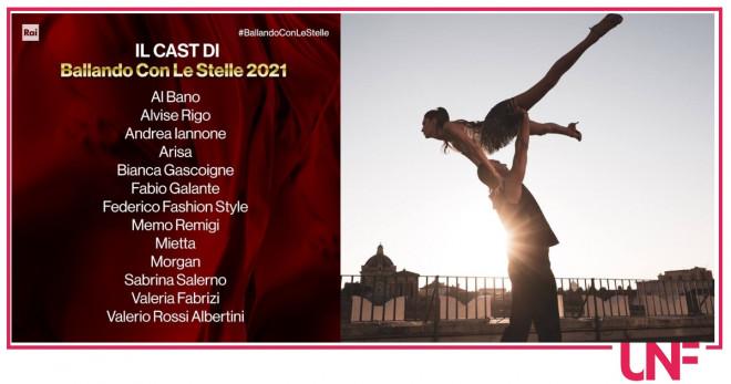 coppie ballando 2021