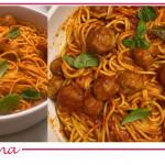 Spaghetti and meatballs: la ricetta di spaghetti con polpette di Benedetta Parodi