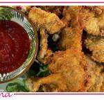 Ricette Daniele Persegani: alette di pollo croccanti con salsa